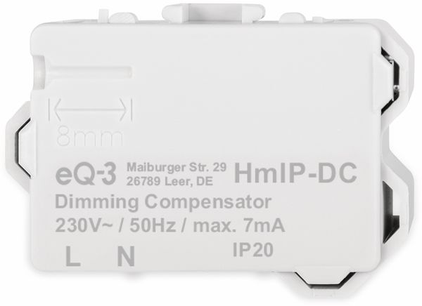 HOMEMATIC IP 155402A0 Dimmerkompensator - Produktbild 7