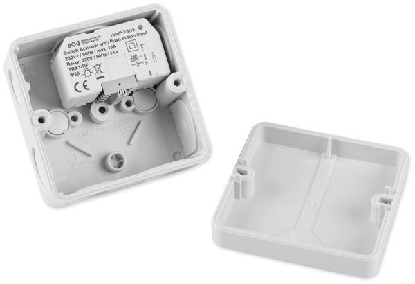 HOMEMATIC IP 154346A0 Schaltaktor mit Tastereingang (16A), Unterputz - Produktbild 5