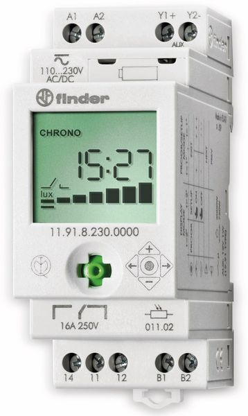 Dämmerungsschalter FINDER, 230 V, 11.91.8.230.0000