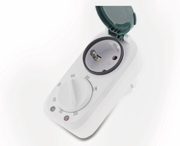 Zeitschaltuhr CHILITEC 22978, 3600 W, Außenbereich - Produktbild 4