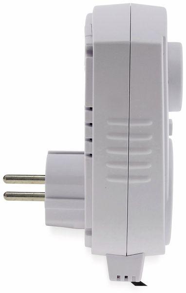 Steckdosenthermostat CHILITEC ST-50, analog, mit Außenfühler - Produktbild 3