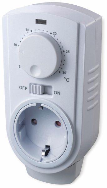 Steckdosenthermostat CHILITEC ST-35, analog, 3500 W