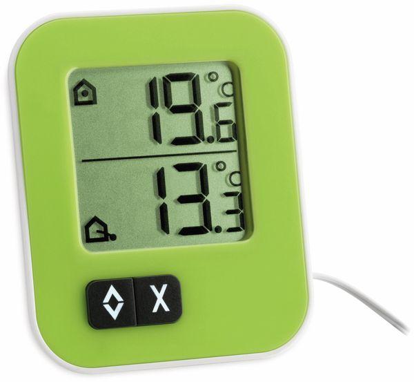 Innen-/Außenthermometer TFA Moxx, 30.1043.04, grün/weiß