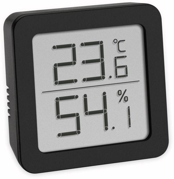Digitales Thermo-Hygrometer TFA, schwarz, 30.5051.01