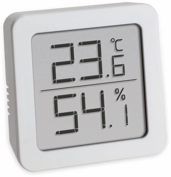 Digitales Thermo-Hygrometer TFA, weiß, 30.5051.02