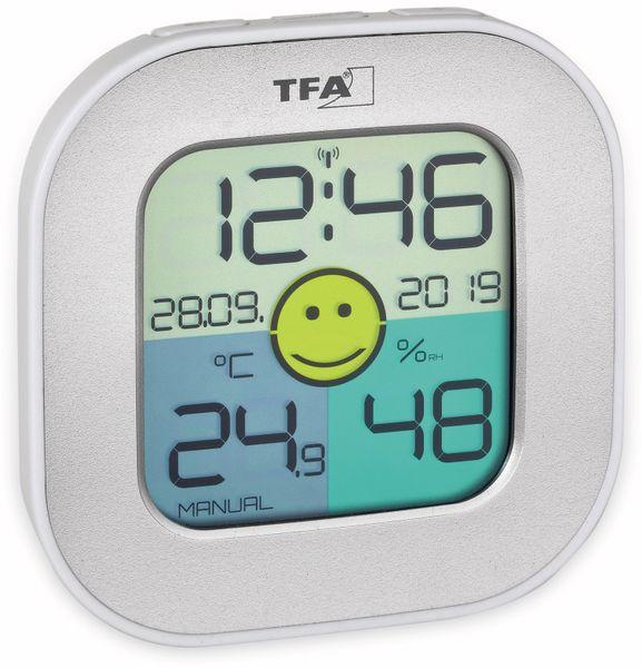 Digitales Thermo-Hygrometer TFA Fun, 30.5050.54, silber