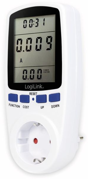 Energiekosten-Messgerät LOGILINK EM0003, Premium