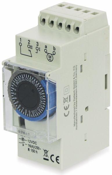 Zeitschaltuhr RELTECH RZSA2, 12 V-, DIN-Schiene, Analog - Produktbild 2