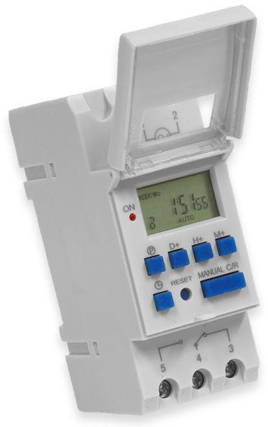 Digitale Zeitschaltuhr RELTECH RZSD1, 230 V, DIN-Schiene, 1 Kanal