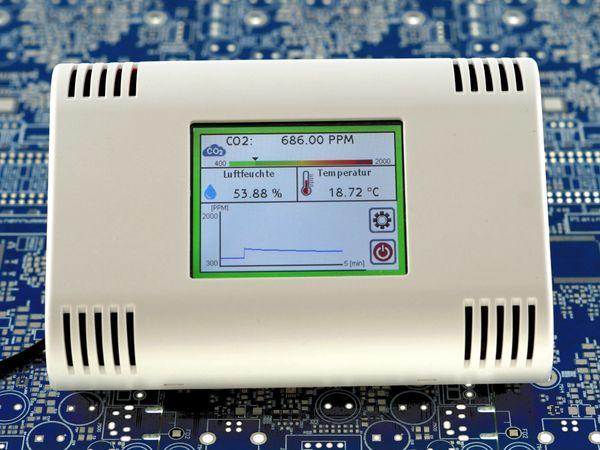 Luftgütemonitor VISTRON CO2 Monitor CM1 - Produktbild 2