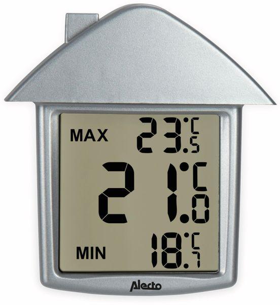 Innen-/Außenthermometer ALECTO OT-01, silber