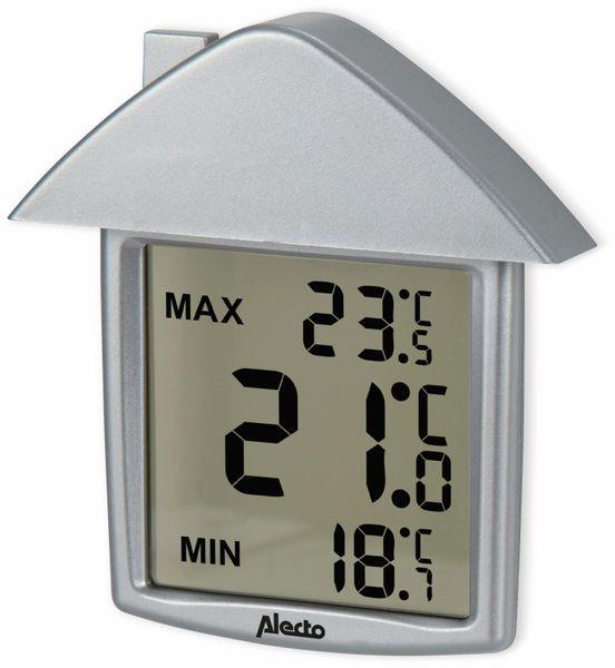 Innen-/Außenthermometer ALECTO OT-01, silber - Produktbild 2