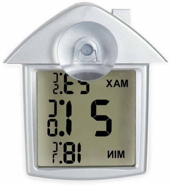 Innen-/Außenthermometer ALECTO OT-01, silber - Produktbild 5