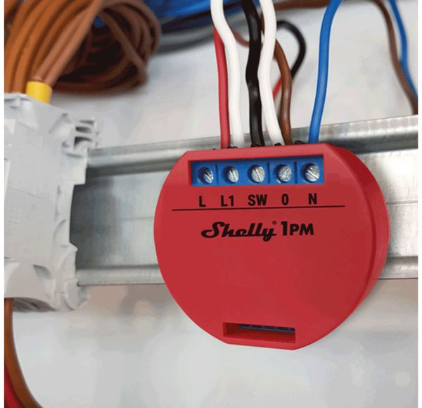 WLAN-Schalter SHELLY 1 PM - Produktbild 2