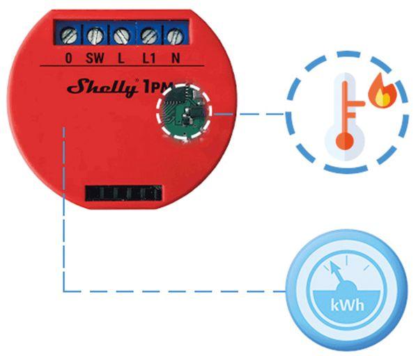 WLAN-Schalter SHELLY 1 PM - Produktbild 3