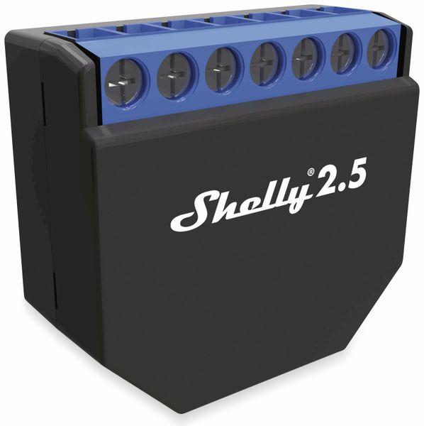 Dual-WiFi-Switch SHELLY 2.5, Dual-Schalter