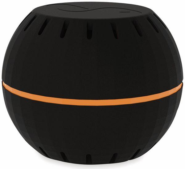 Luftfeuchtigkeits- und Temperatursensor, SHELLY H&T, schwarz