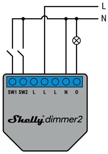 WiFi-Dimmer SHELLY 2 - Produktbild 4