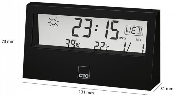 Wetterstation CLATRONIC WSU 7022, schwarz - Produktbild 2