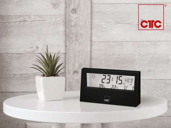 Wetterstation CLATRONIC WSU 7022, schwarz - Produktbild 7