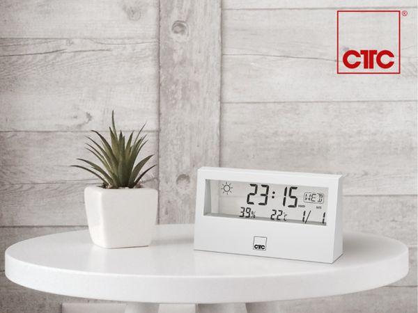 Wetterstation CLATRONIC WSU 7022, weiß - Produktbild 6