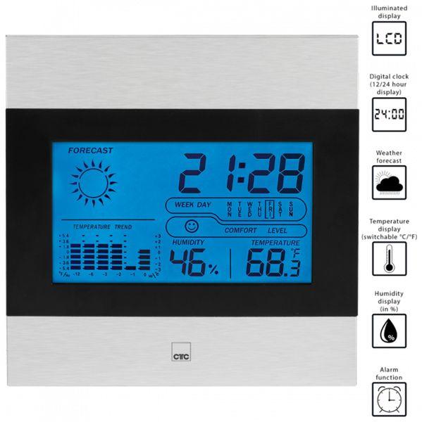 Wetterstation CLATRONIC CTC WSU 7023 - Produktbild 4