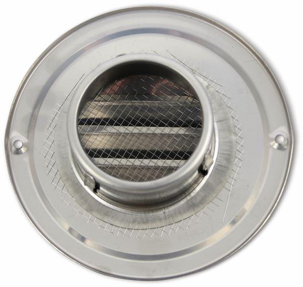 Lüftungsgitter, 70 mm, Edelstahl, gebürstet - Produktbild 2