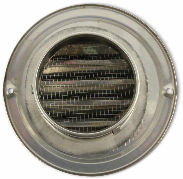 Lüftungsgitter, 80 mm, Edelstahl, gebürstet - Produktbild 2