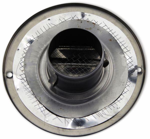 Lüftungsgitter, Kalottenform, 50 mm, Edelstahl, gebürstet - Produktbild 2