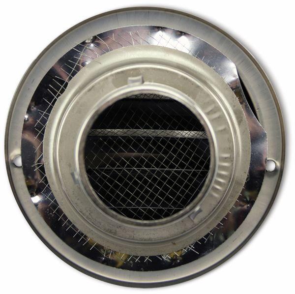 Lüftungsgitter, Kalottenform, 60 mm, Edelstahl, gebürstet - Produktbild 2