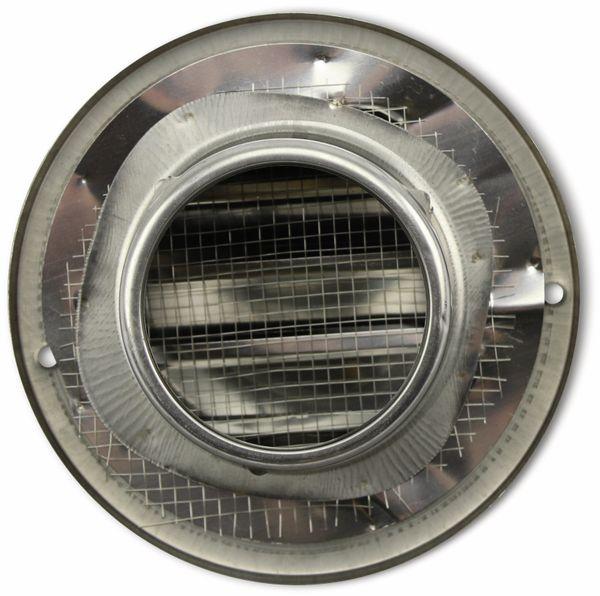 Lüftungsgitter, Kalottenform, 70 mm, Edelstahl, gebürstet - Produktbild 2