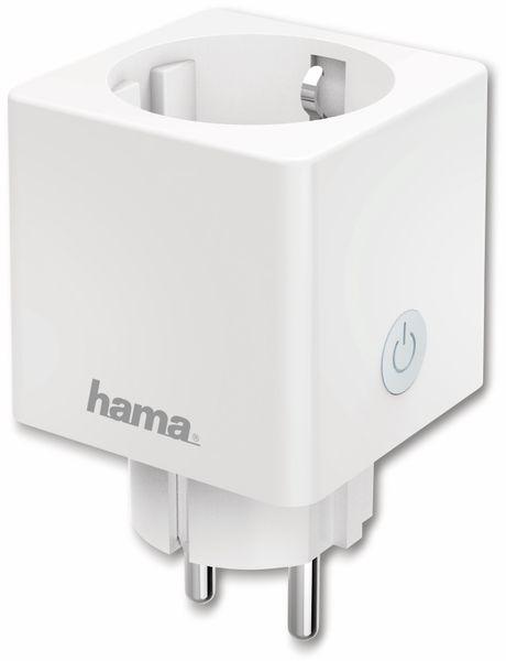 WLAN-Steckdose HAMA Mini, 3680 W, 16 A