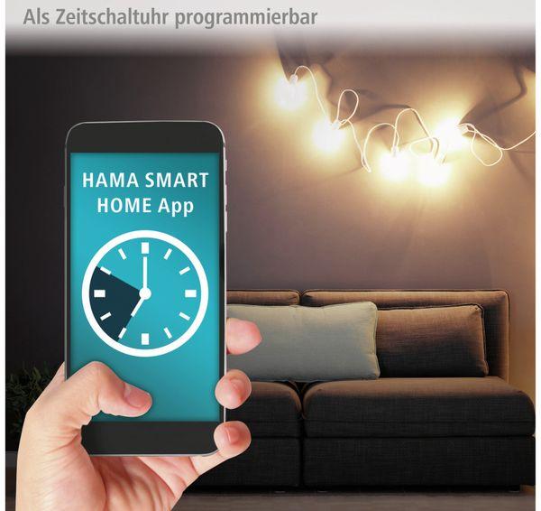 WLAN-Steckdose HAMA Mini, 3680 W, 16 A, mit Stromverbrauchsmessung - Produktbild 6