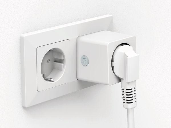WLAN-Steckdose HAMA Mini, 3680 W, 16 A, mit Stromverbrauchsmessung - Produktbild 7
