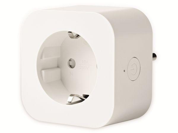Funksteckdosen-Set NEDIS, Smart Plug WIFIP130FWT3, innen, 3 Stück - Produktbild 2