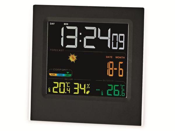 Wetterstation NEDIS, WEST404BK, schwarz - Produktbild 2