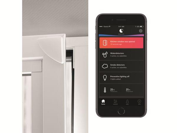 Tür- und Fensterkontakt SMARTWARES SH8-90401, PRO Serie, weiß - Produktbild 4