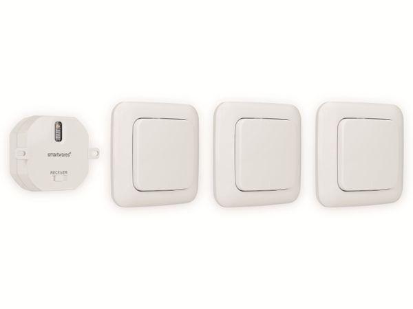 Schlafzimmer-Lichtschalter-Set SMARTWARES SH4-99567, weiß