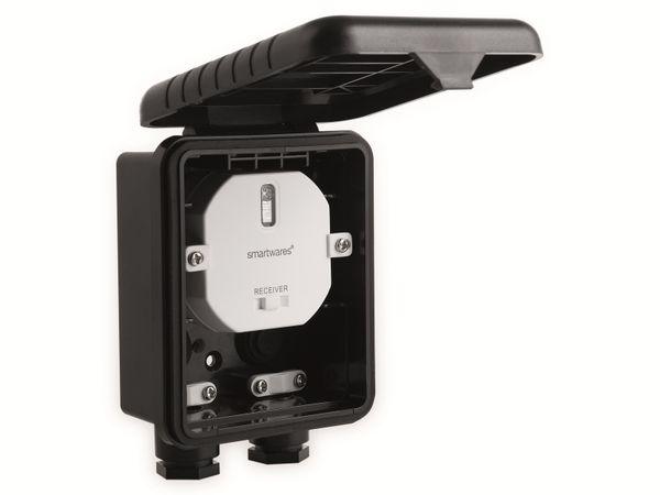 Funk-Einbauschalter SMARTWARES SH4-90451, Unterputz, Außenbereich