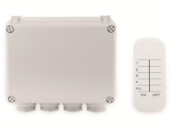 Funk-Schalterbox SMARTWARES SH4-99652, 3-Kanal-Schalter-Set, Außenbereich - Produktbild 2