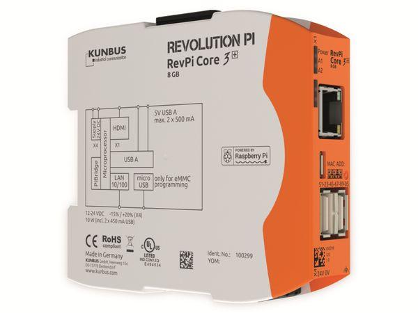 Steuerung KUNBUS RevPi Core 3+ 8 GB