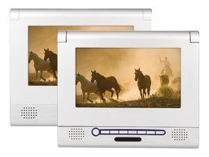 Portables LCD-Monitor-/DVD-Set PD2007 - Produktbild 1