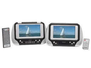 Portables LCD-Monitor-/DVD-Set DENVER MTW-737TWIN - Produktbild 1