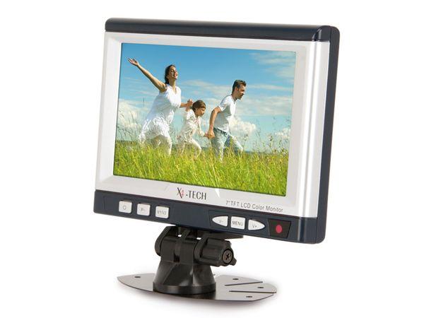 "17,8 cm (7"") LCD-Monitor X4-TECH NOVA M7 - Produktbild 1"
