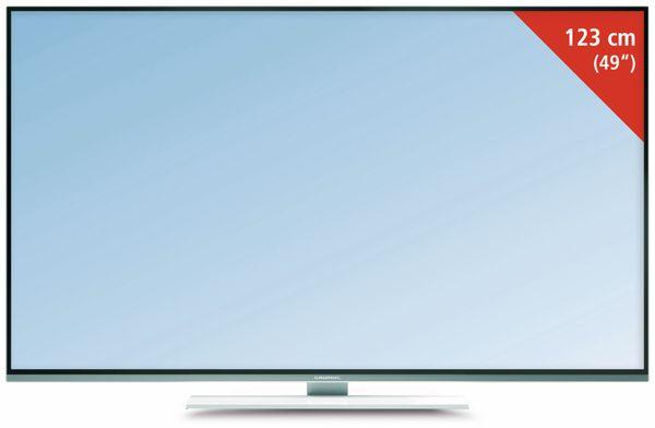GRUNDIG 49 GUW 8678, Flachbildfernseher, EEK: B, LED-TV, UHD-TV, 4K-TV - Produktbild 1
