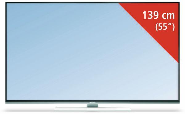 GRUNDIG 55 GUW 8678, Flachbildfernseher, EEK: A, LED-TV, UHD-TV, 4K-TV - Produktbild 1