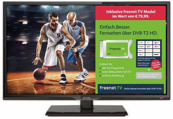 "LED-TV DYON Live 24C Freenet, 24"" (60 cm), Full HD, EEK: A"