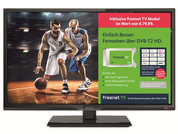 "LED-TV DYON Live 24C Freenet, 24"", Full HD, EEK: A"