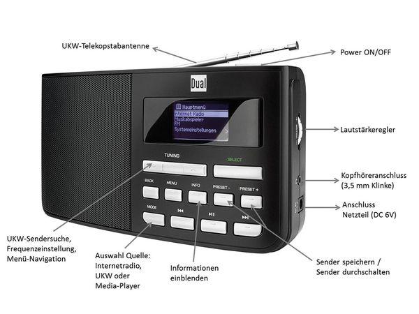 Internetradio DUAL IR 5.1, B-Ware - Produktbild 5
