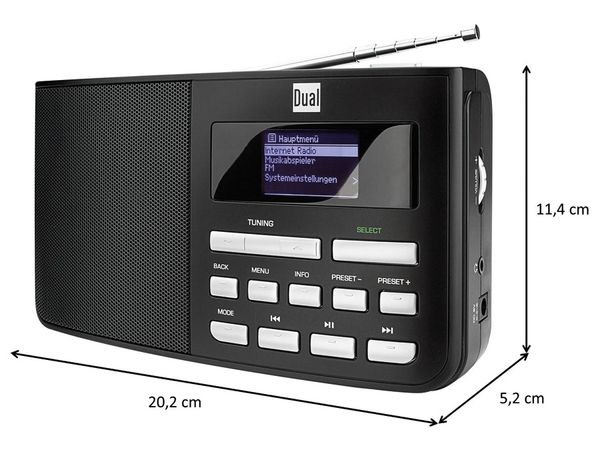 Internetradio DUAL IR 5.1, B-Ware - Produktbild 6